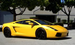 Gallardo black wheels